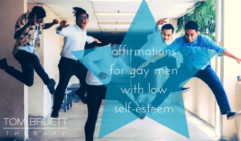 affirmations gay men low self-esteem