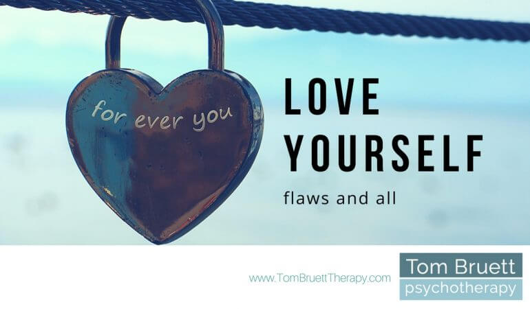 love yourself, flaws and all