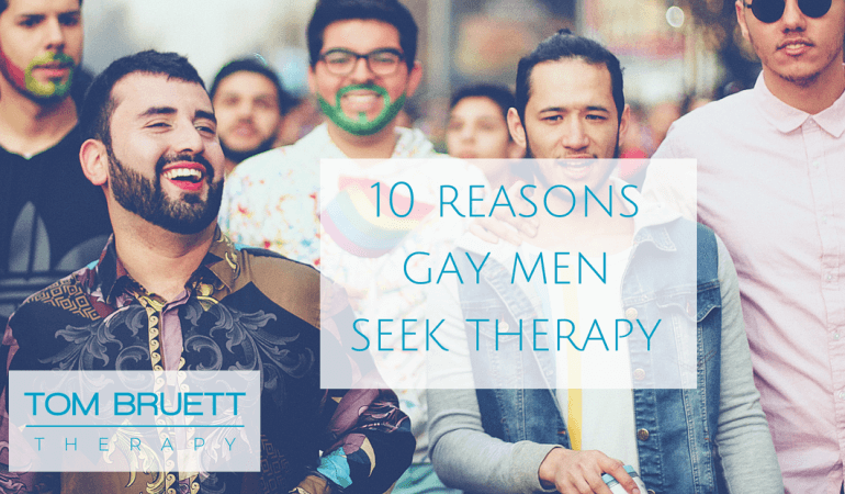 reasons gay men seek therapy