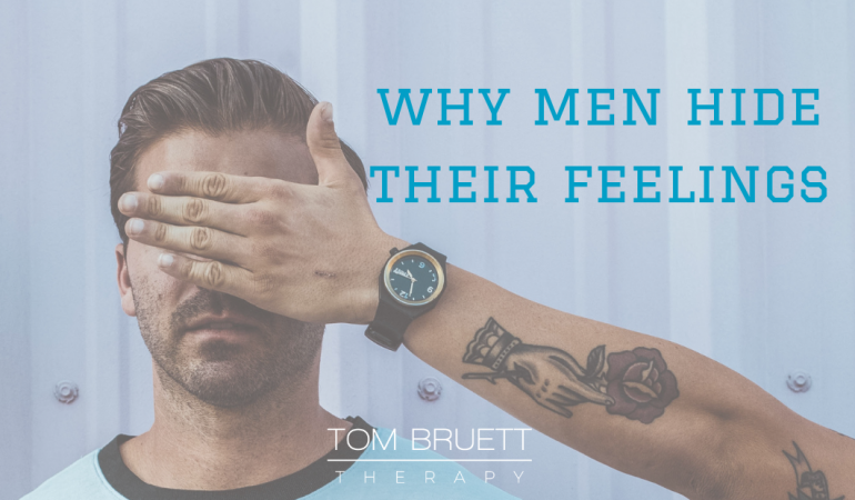 why do men hide their feelings