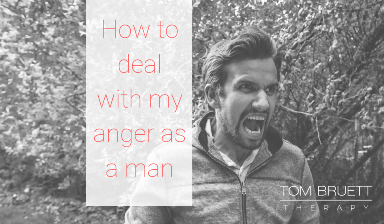 Dealing with anger as a man