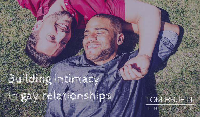 build intimacy in gay relationships