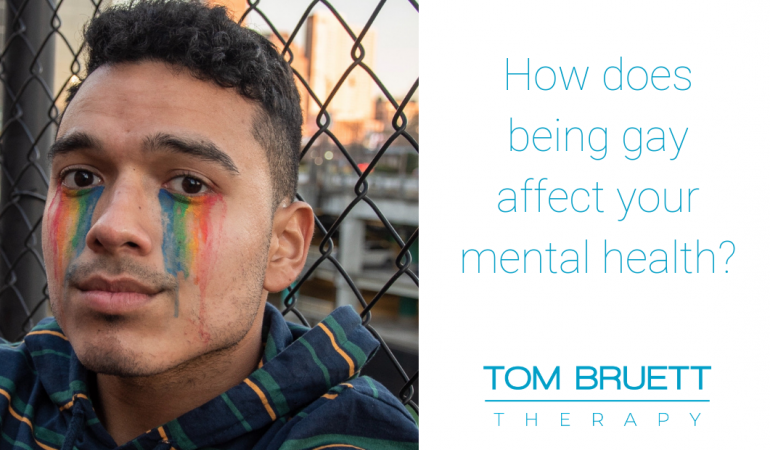 Being gay affect mental health