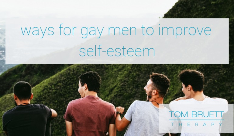 Improve your self-esteem as a gay man in San Francisco, therapy for gay men 94102