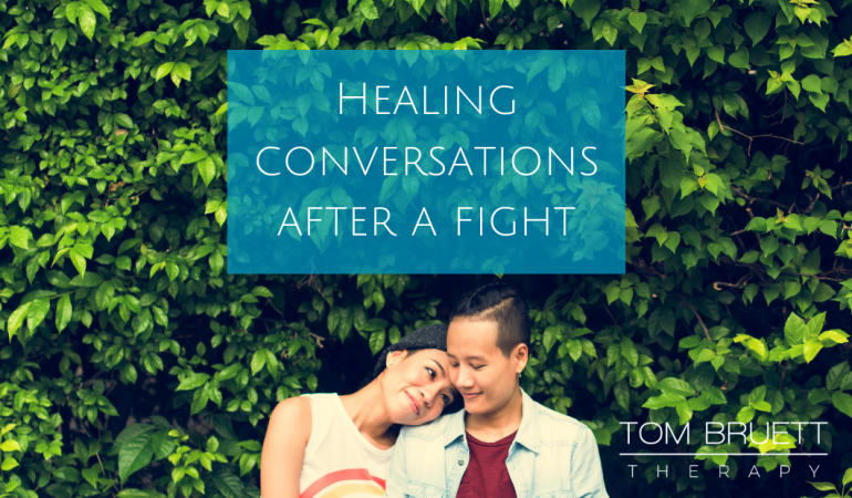 How to have a healing conversation after a fight with your