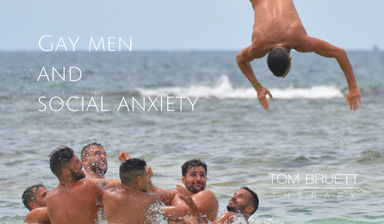 Social anxiety for gay men San Francisco 94102 gay therapist LGBTQ therapy