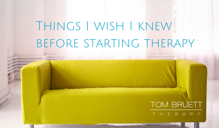things I wish I knew before starting therapy