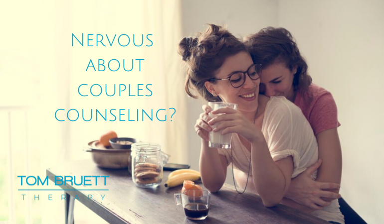 nervous about couples counseling
