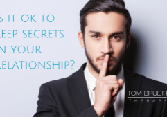 Keeping secrets in your relationship