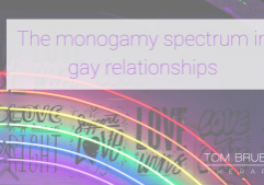The monogamy spectrum in gay relationships