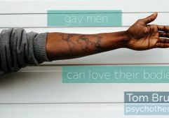 gay men can love their bodies- Tom Bruett Therapy