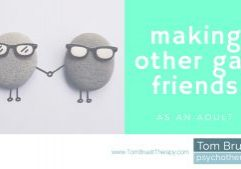 make friends with other gay men